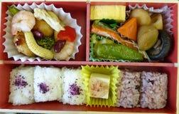 Bento箱子 免版税库存照片