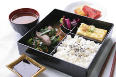 Bento集合 免版税库存图片