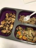 Bento box lunch. Healthy eats meal prep Stock Photography