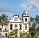 Bento church. Olinda, Brazil. World-wide Patrimony of the humanity, olinda royalty free stock photos