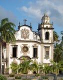 Bento church. Olinda, Brazil. World-wide Patrimony of the humanity, olinda royalty free stock images