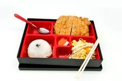 Bento Japan Nahrung Lizenzfreie Stockfotografie