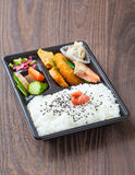 Bento japanese cuisine Royalty Free Stock Photography