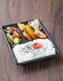 Bento japanese cuisine Royalty Free Stock Photography
