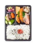 Bento japanese cuisine Royalty Free Stock Photo