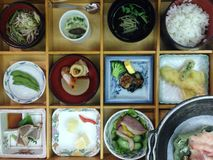 Bento Japanese food Royalty Free Stock Images