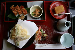 Bento Set Royalty Free Stock Photos