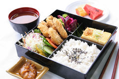 Bento set fotografia royalty free