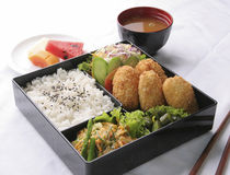 Bento set Royalty Free Stock Photo