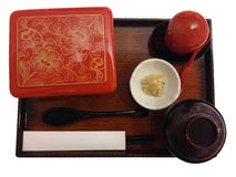 Bento set with fried pork and egg Royalty Free Stock Photos