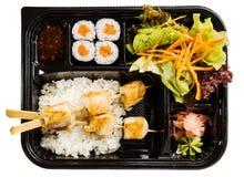 Bento set Stock Photography