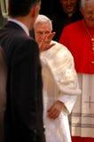 Bento XVI en Lisboa Imágenes de archivo libres de regalías