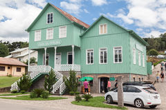 bentolandsgoncalves house gammalt trä Royaltyfria Bilder