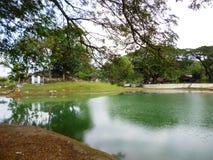 Bentolo Reservoir Stock Image
