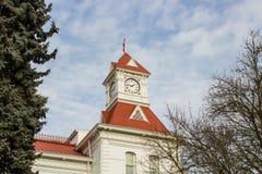 Benton County Courthouse, Corvallis, Orégon Image libre de droits