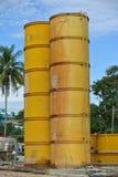Bentonita i wody silos Zdjęcie Royalty Free
