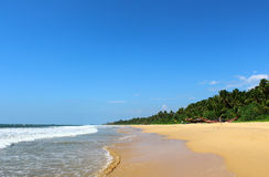 Bentota Beach, Indian Ocean, Sri Lanka Stock Photography