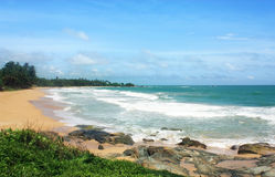 Bentota beach, Sri Lanka Royalty Free Stock Photo