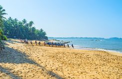 The beaches of Bentota Royalty Free Stock Photo