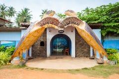 Turtle Sanctuary Centre, Hikkaduwa. BENTOTA, SRI LANKA - FEBRUARY 27, 2017: Turtle Sanctuary Centre in Hikkaduwa, Sri Lanka Stock Photography