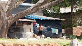 BENTOTA, SRI LANKA - 25 GENNAIO 2016: foto del cittadino indigeno immagine stock libera da diritti