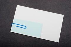 Benutzen Sie Papierklammer Stockfotografie
