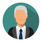 Benutzerzeichenikone Personensymbol Menschlicher Avatara Lizenzfreie Stockbilder