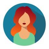 Benutzerzeichenikone Personensymbol Menschlicher Avatara Lizenzfreie Stockfotografie