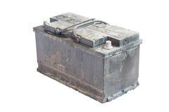 Benutzte Batterie Stockbild
