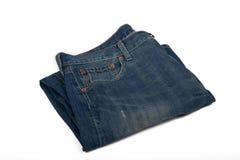 Benutzte Blue Jeans Stockbilder