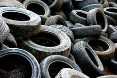 Benutzte Reifen 2 Stockbild
