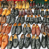 Benutzte Schuhe Lizenzfreies Stockbild