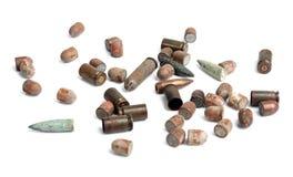 Benutzte Shells Stockfoto