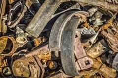 Benutzte Teile für Reparatur der Ausrüstung Stockbilder