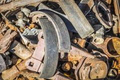 Benutzte Teile für Reparatur der Ausrüstung Lizenzfreie Stockfotografie