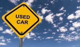 Benutztes Auto lizenzfreie abbildung