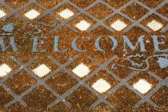 Benvenuto!! Fotografia Stock