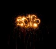 Benvenuto 2013! Fotografia Stock Libera da Diritti