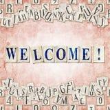 Benvenuto! royalty illustrazione gratis