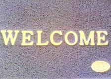 Benvenuto Immagini Stock
