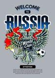 Benvenuto ad arte della Russia Immagine Stock
