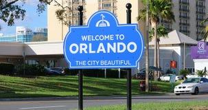 Benvenuto ad Orlando Sign archivi video