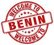 Benvenuto al bollo del Benin Royalty Illustrazione gratis