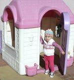Benvenuto al mio playhouse Immagini Stock