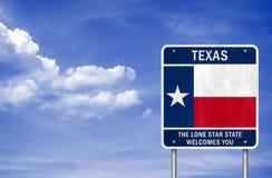 Benvenuto al Texas Immagine Stock Libera da Diritti