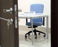 Benvenuto all'ufficio! 02 Fotografia Stock Libera da Diritti