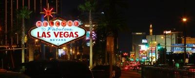 Benvenuto alla striscia di Las Vegas Immagine Stock Libera da Diritti