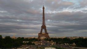 Benvenuto alla Torre Eiffel Fotografia Stock Libera da Diritti