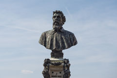Benvenuto cellini statue Stock Image