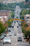 Benvenuto a Colorado dorato Immagini Stock Libere da Diritti